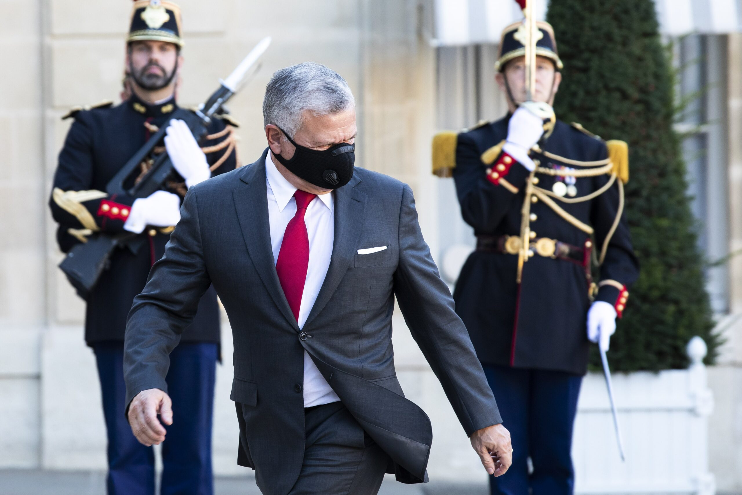 Abdalá II en una visita a París / EP