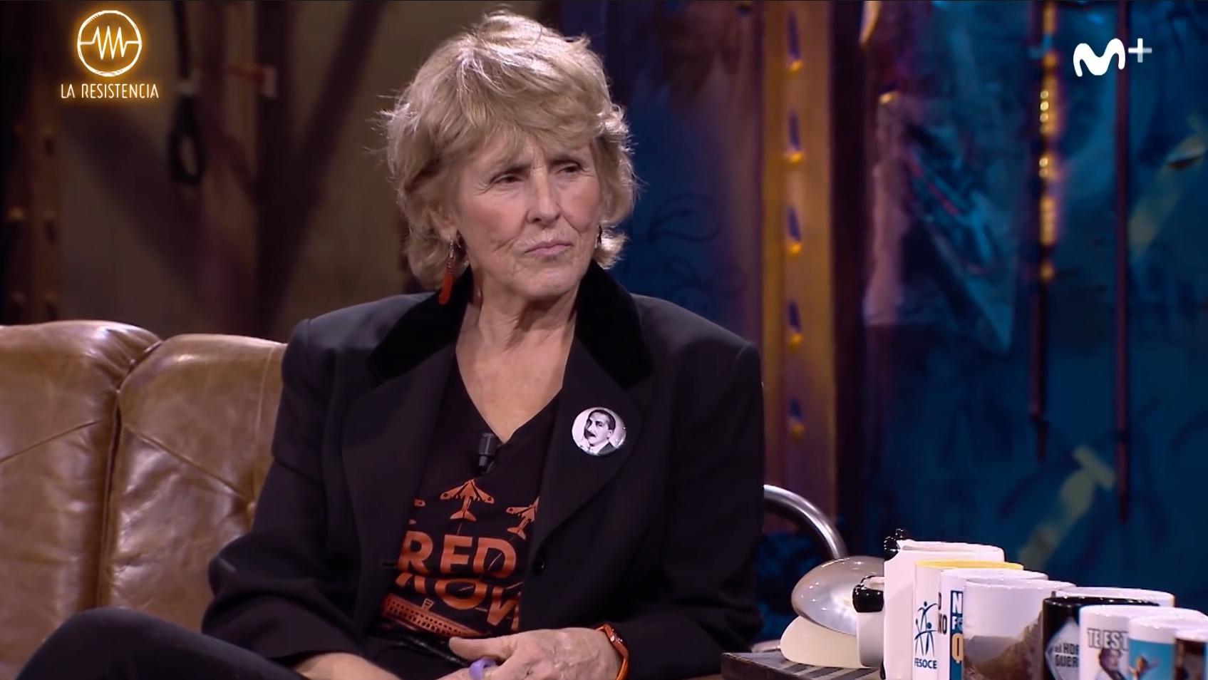 Mercedes Milá a 'La Resistencia' - Movistar +