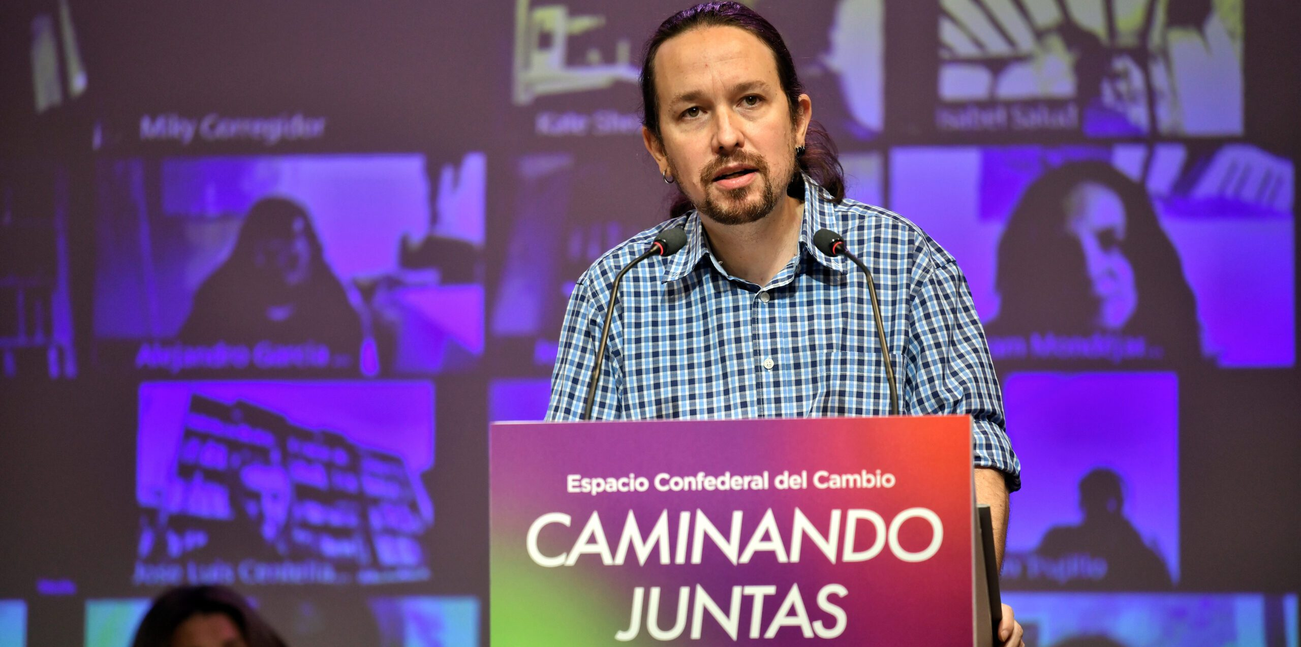 El candidat d'Unides Podem a Madrid, Pablo Iglesias, en una imatge d'arxiu | ACN