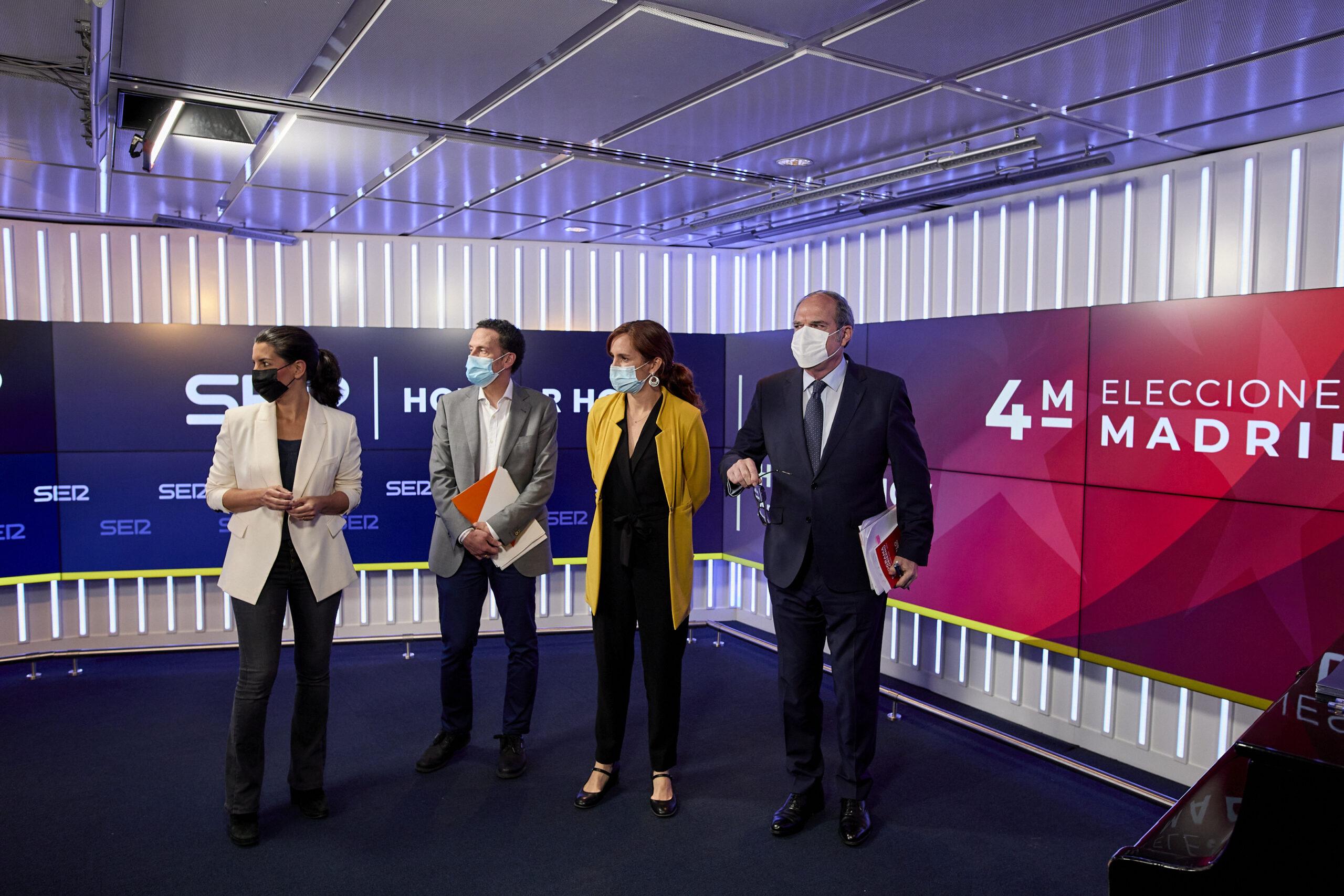 Cinc dels candidats / EP