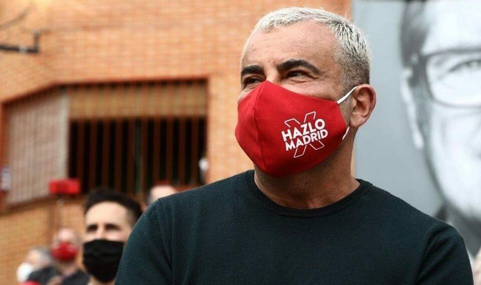Jorge Javier Vázquez, en un míting electoral - Instagram