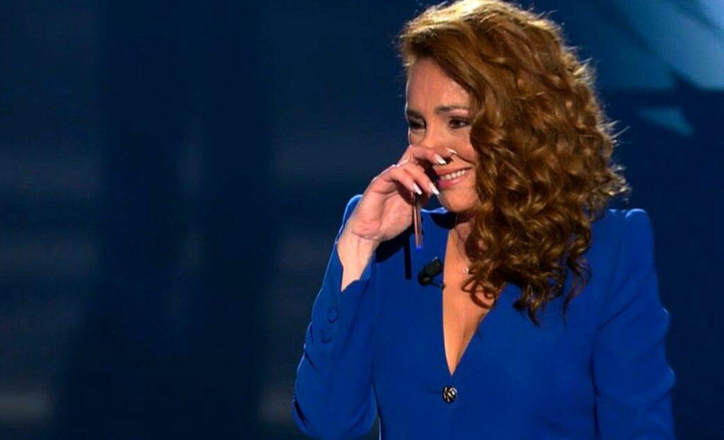 Rocío Carrasco plora en directe - Telecinco