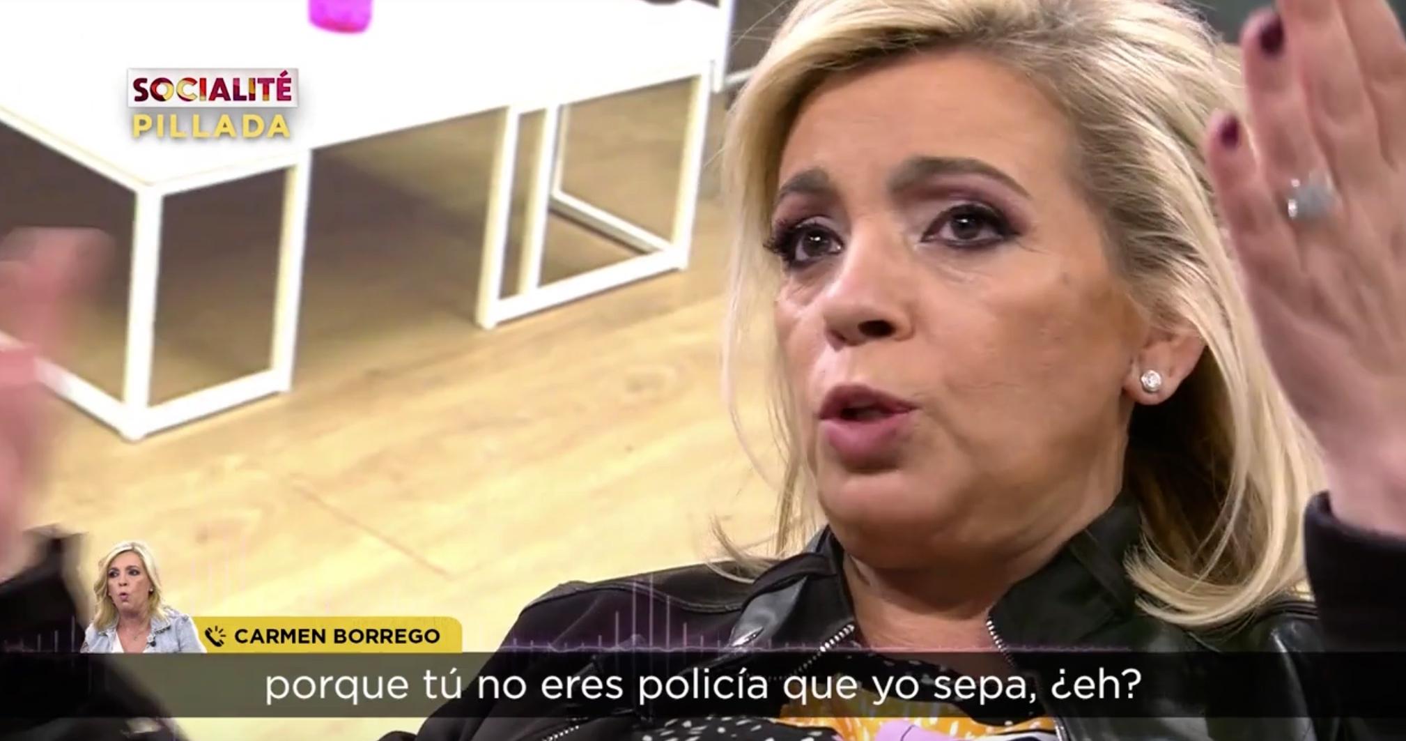 Carmen Borrego esclata - Telecinco