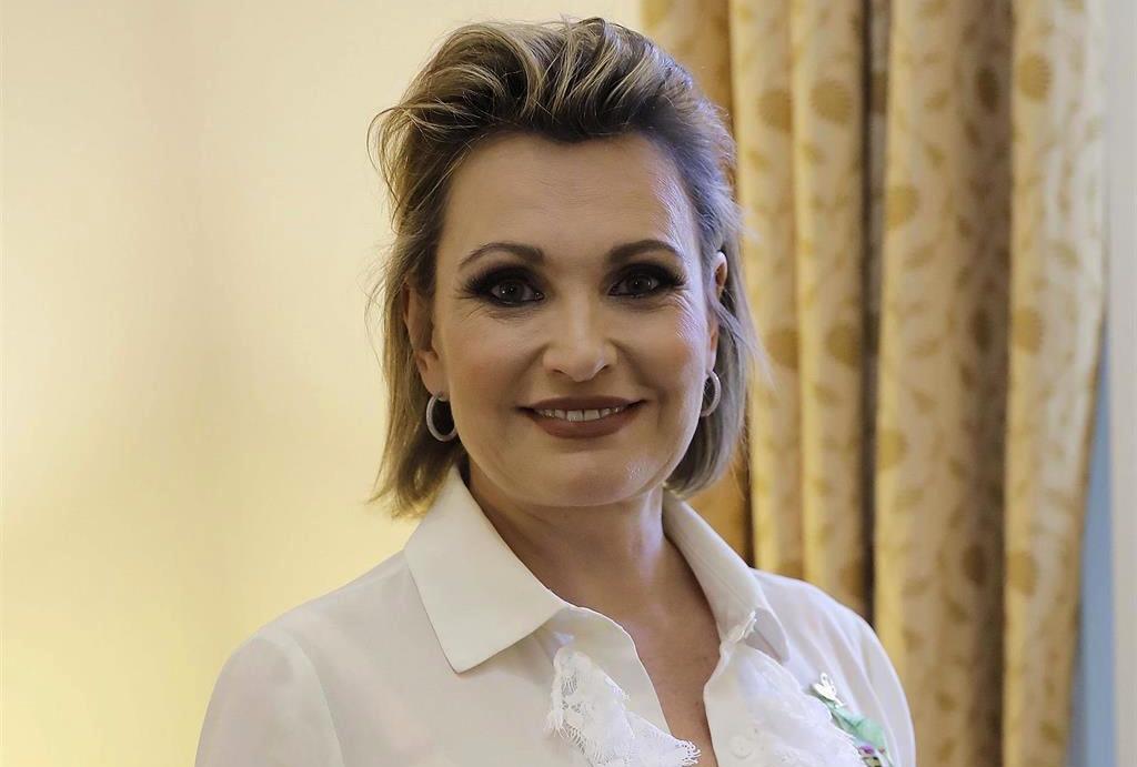 Ainhoa Arteta, en un reportatge d'Europa Press