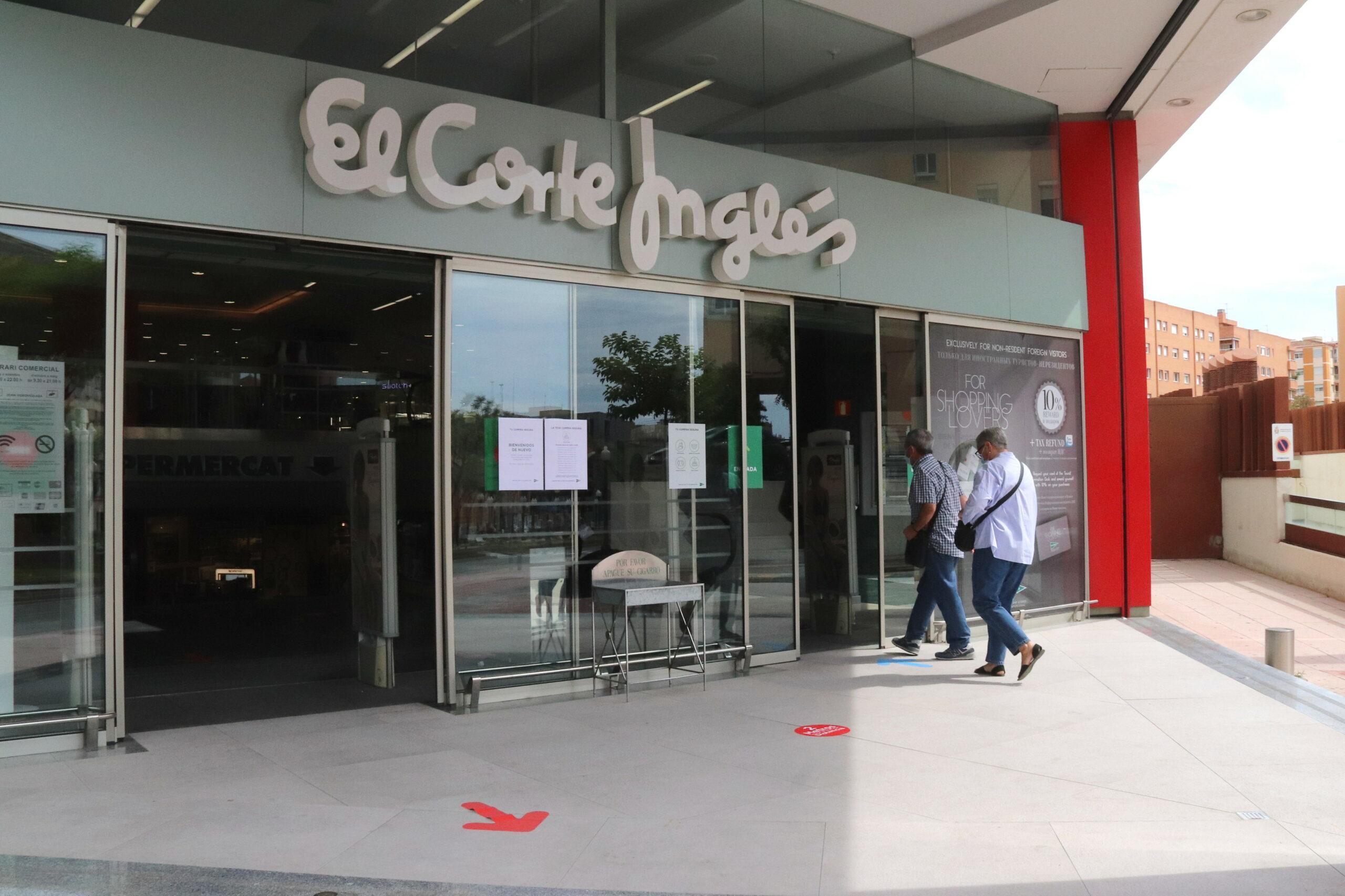 L'entrada del Corte Inglés de Tarragona   ACN
