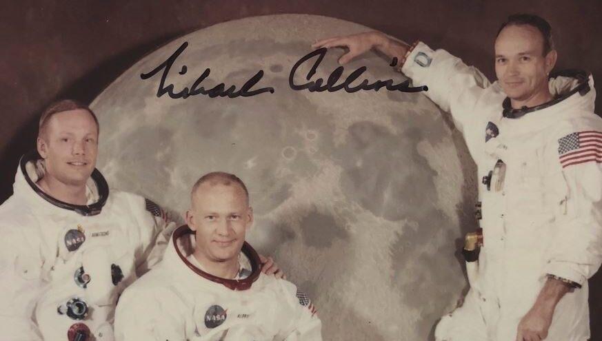 Els tres astronautes de l'Apollo 11 TWITTER/MICHAEL COLLINS/EUROPA PRESS