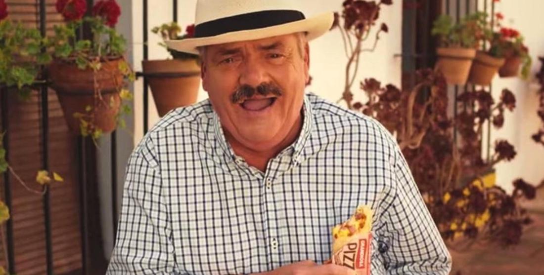 El Risitas, en un anunci a la televisió estrangera - Youtube