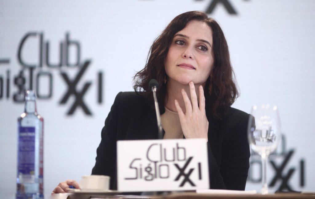 Isabel Díaz Ayuso | Europa Press