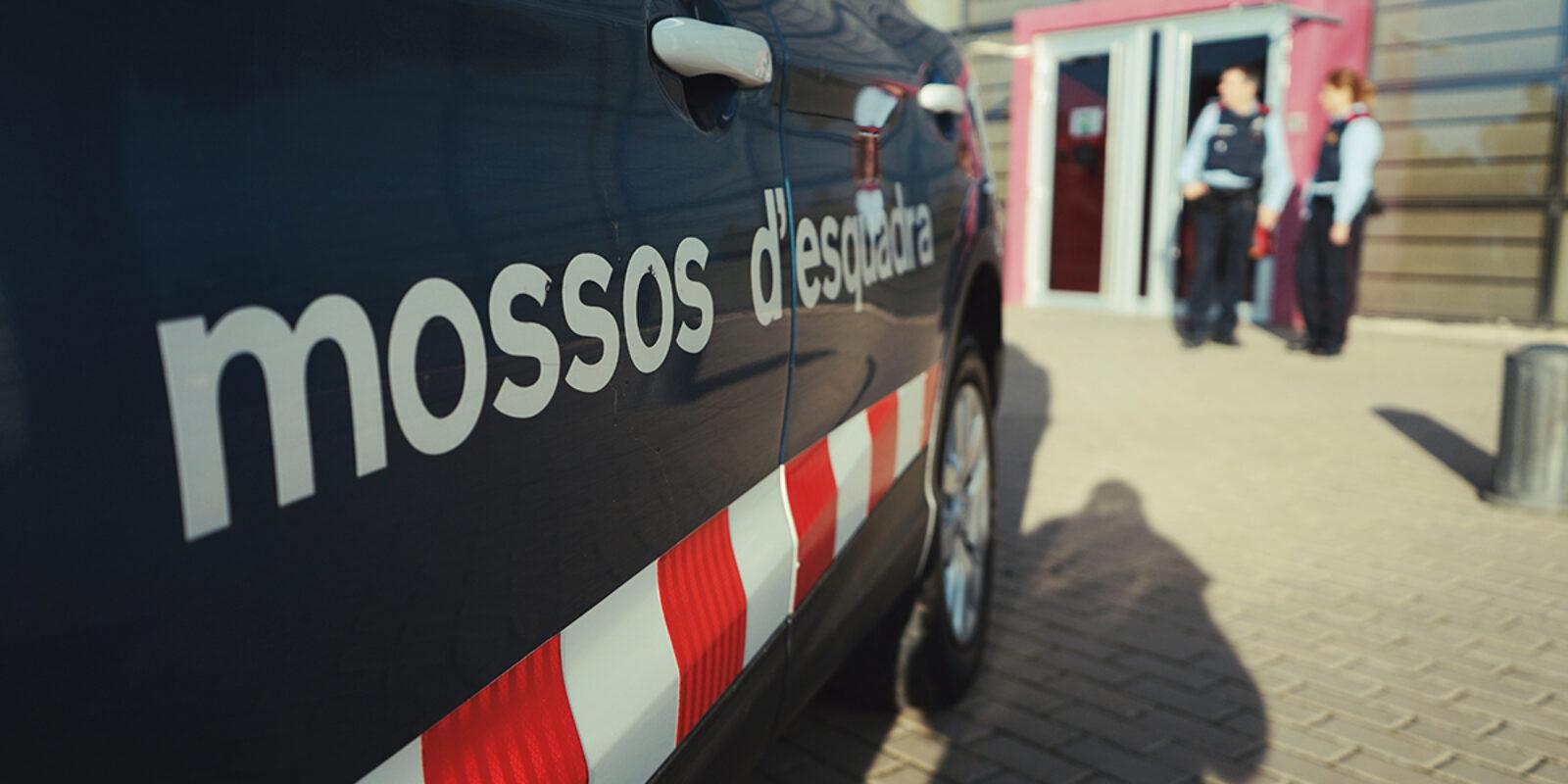 Imatge d'arxiu dels Mossos davant dependències policials / Mossos d'Esquadra