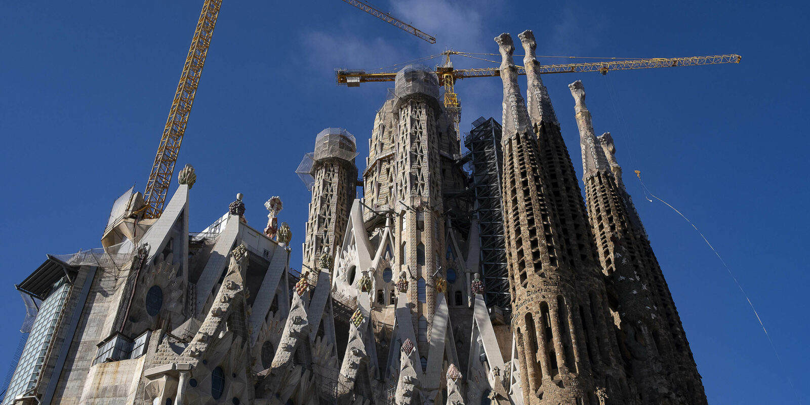 19.01.2021, Barcelona Sagrada Família.  foto: Jordi Play