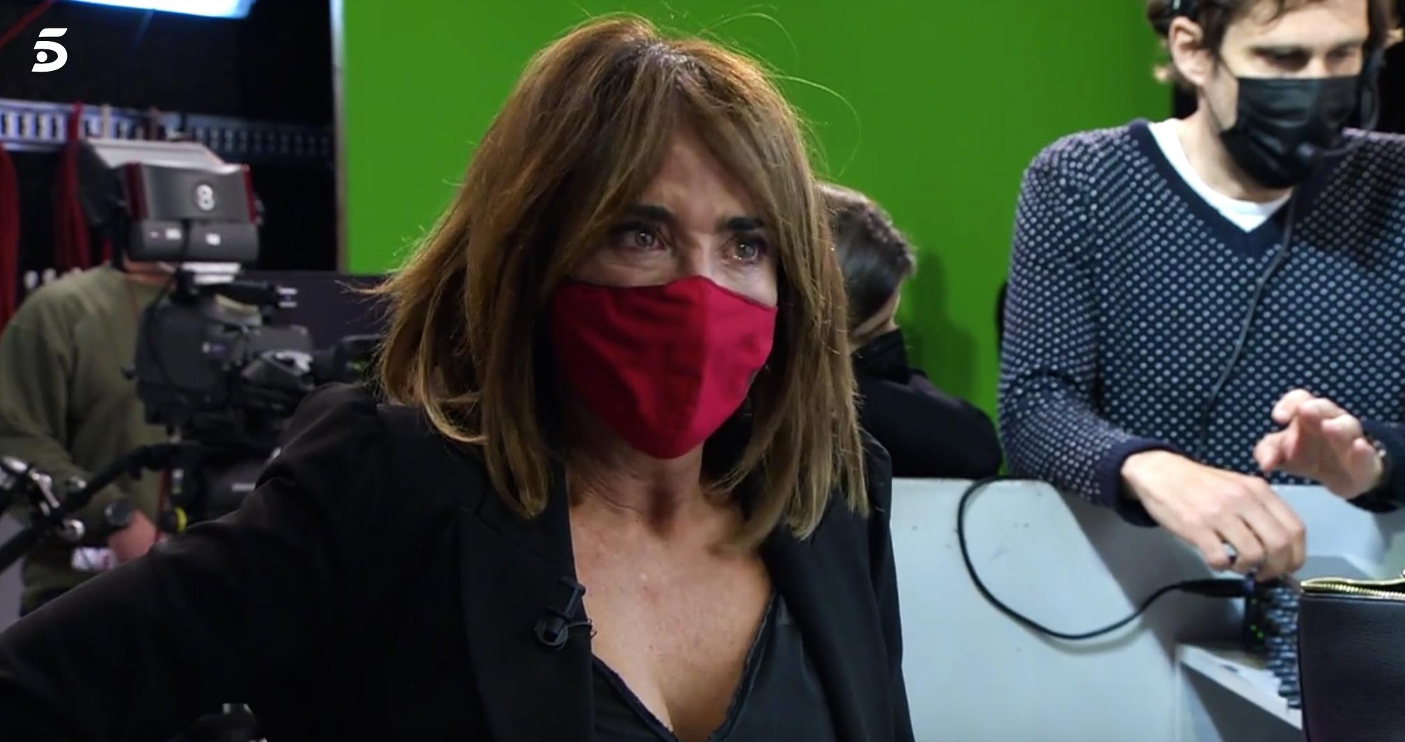 María Patiño pateix un atac de nervis - Telecinco