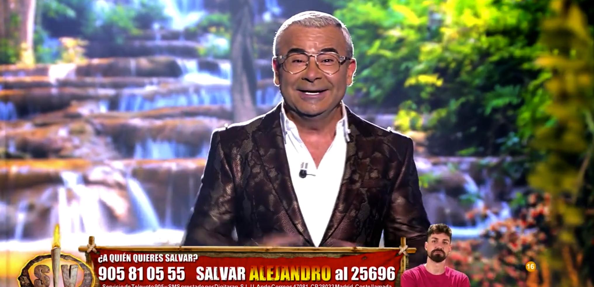Jorge Javier Vázquez presenta l'última gala de 'Supervivientes' - Telecinco