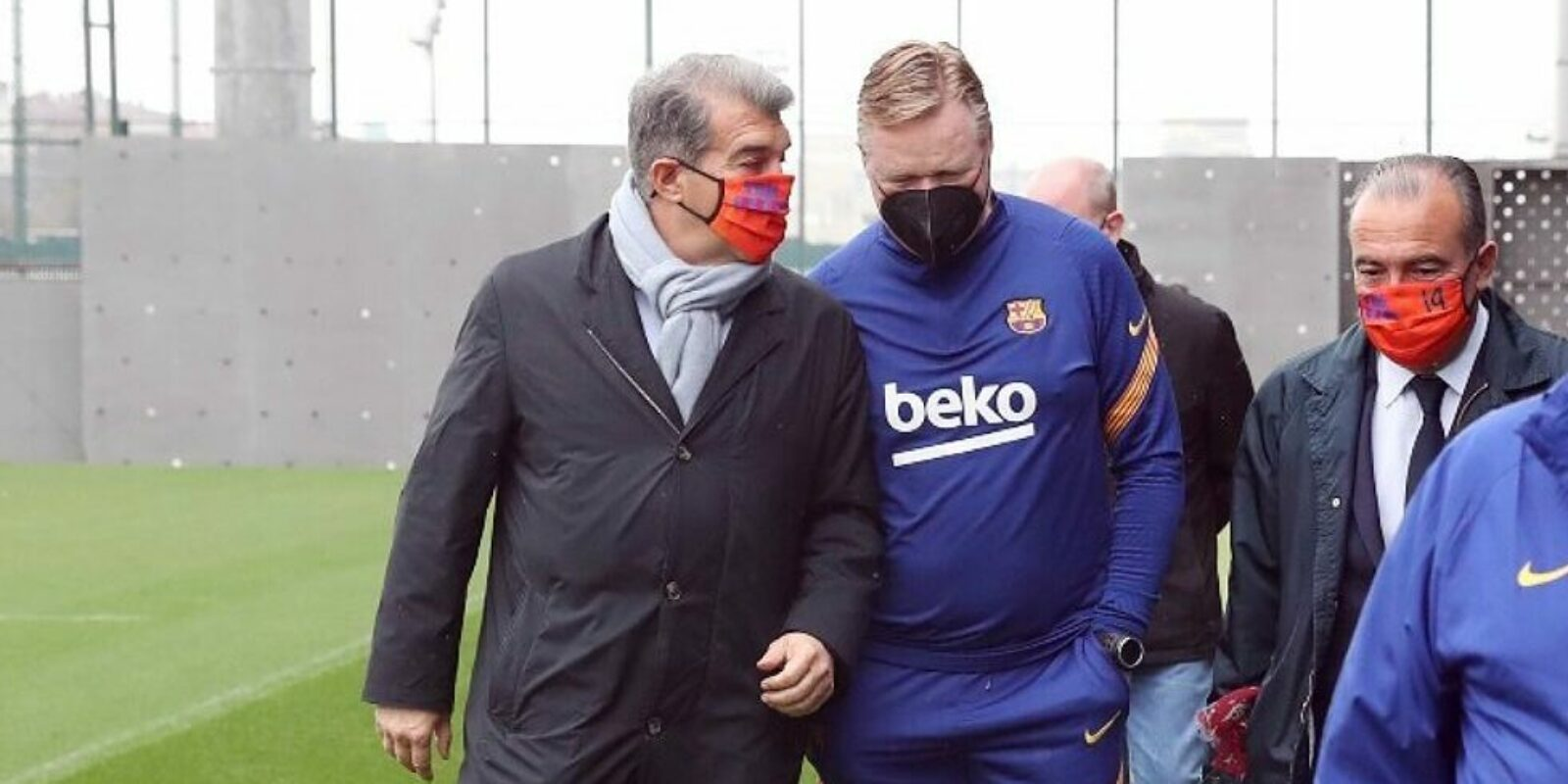 Laporta i Koeman / F.C. Barcelona