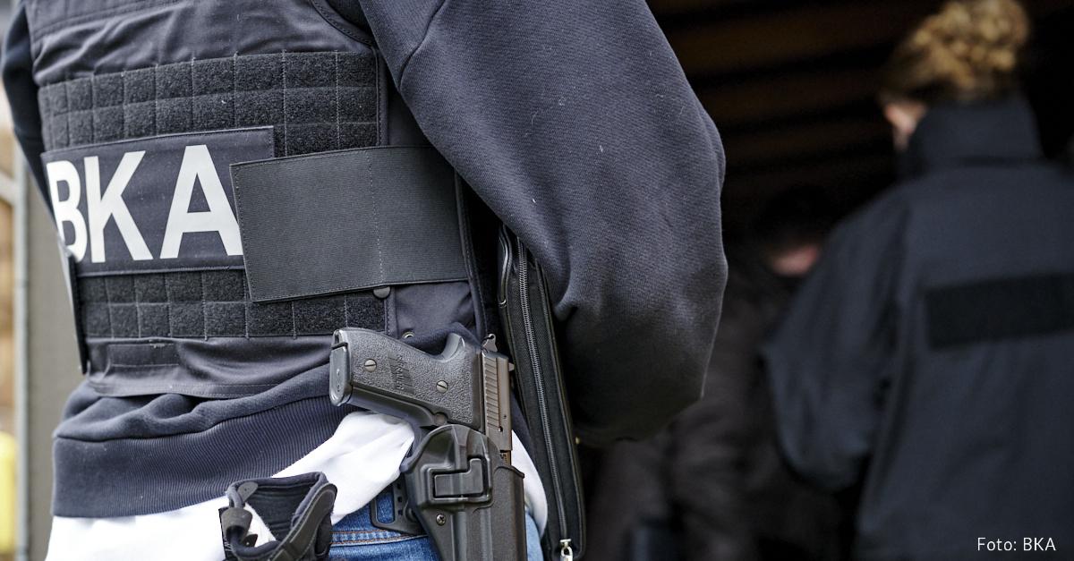 Membres de la BKA alemanya en un operatiu/Bundespolizei Press