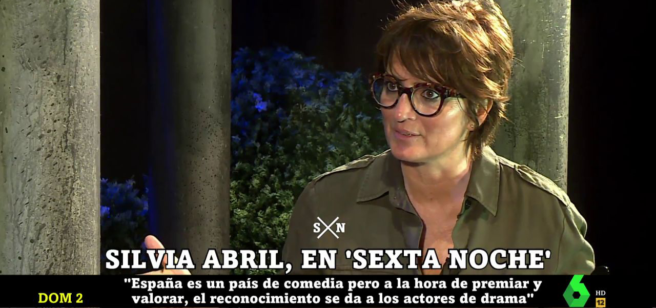 Silvia Abril, a 'La Sexta Noche'