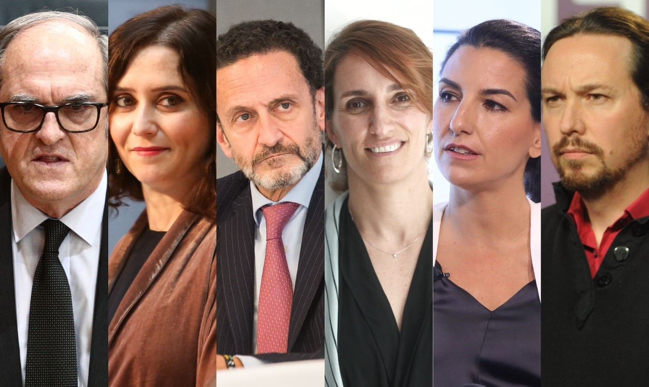 Els candidats a les eleccions de Madrid / Europa Press