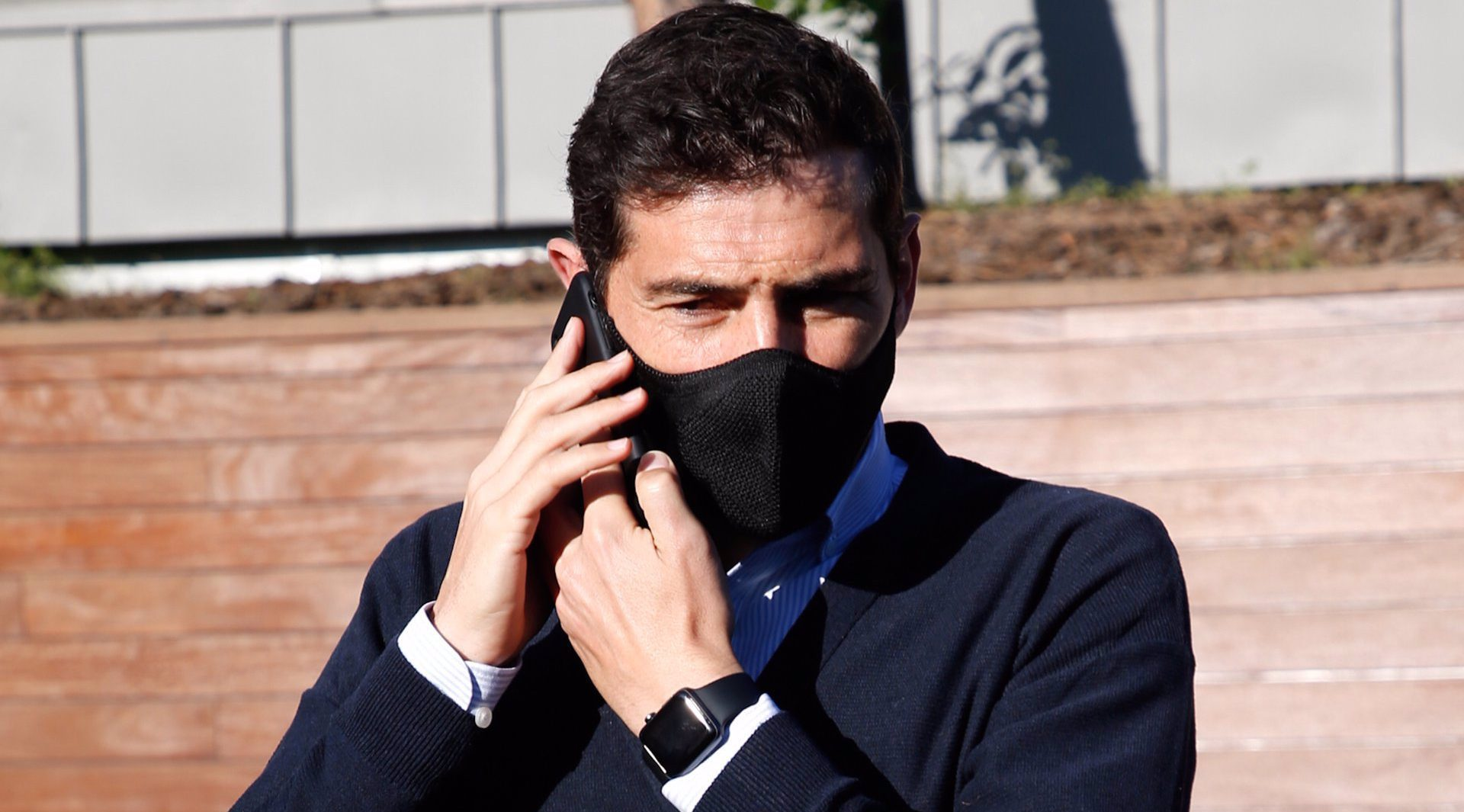 Iker Casillas reapareix després d'haver d'acudir a urgències - Europa Press