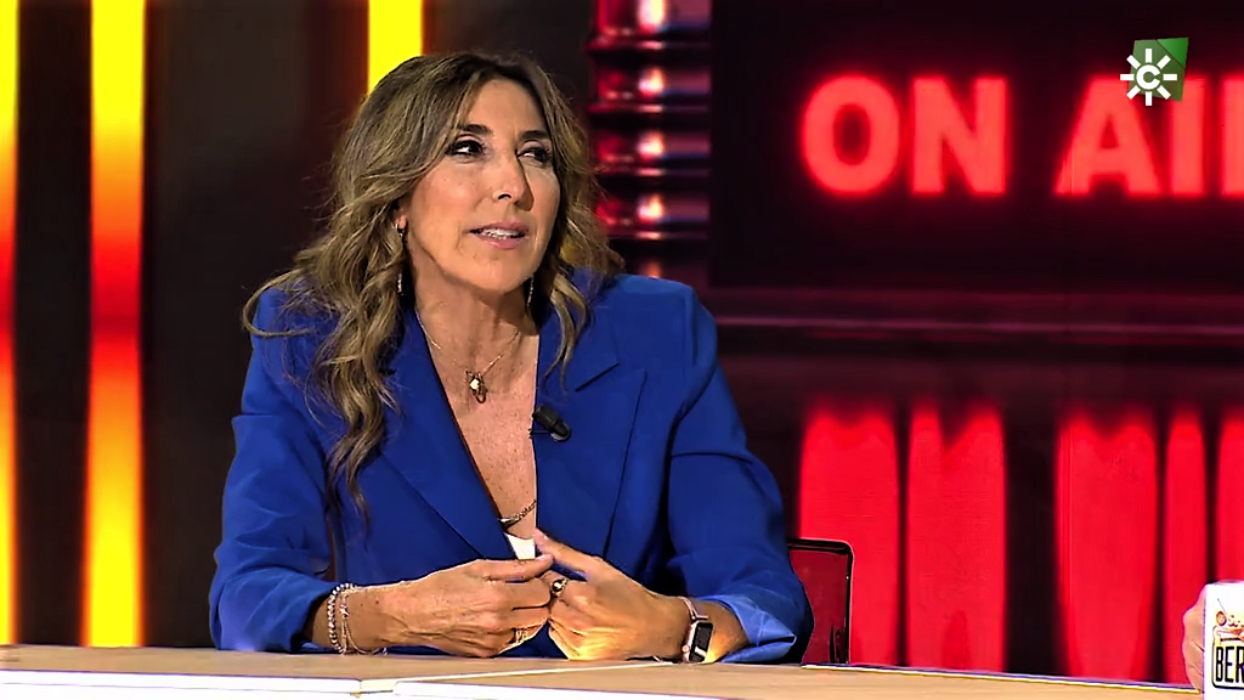 Paz Padilla, entrevistada a Canal Sur