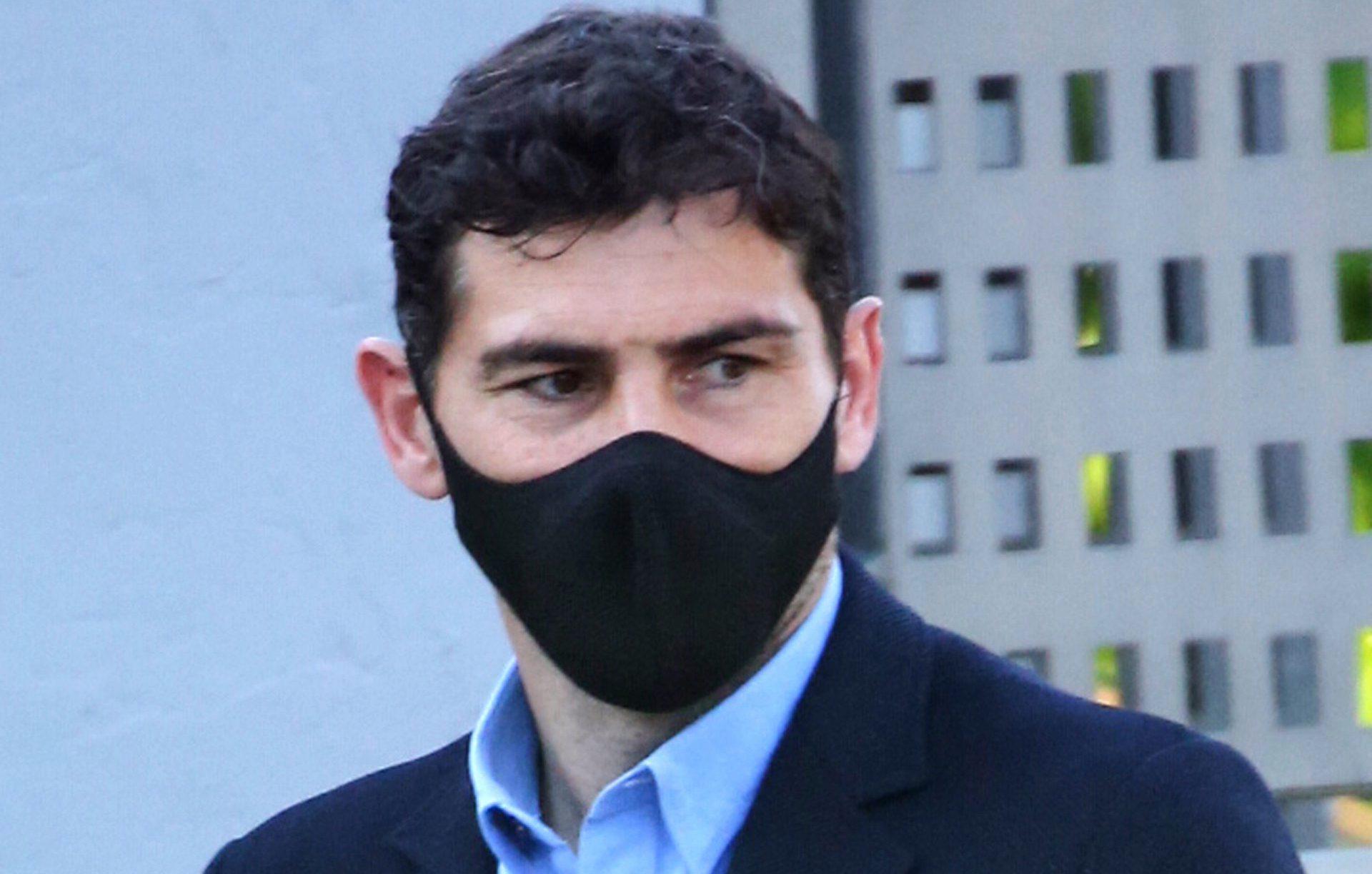 Iker Casillas, enfadat amb els reporters - Europa Press