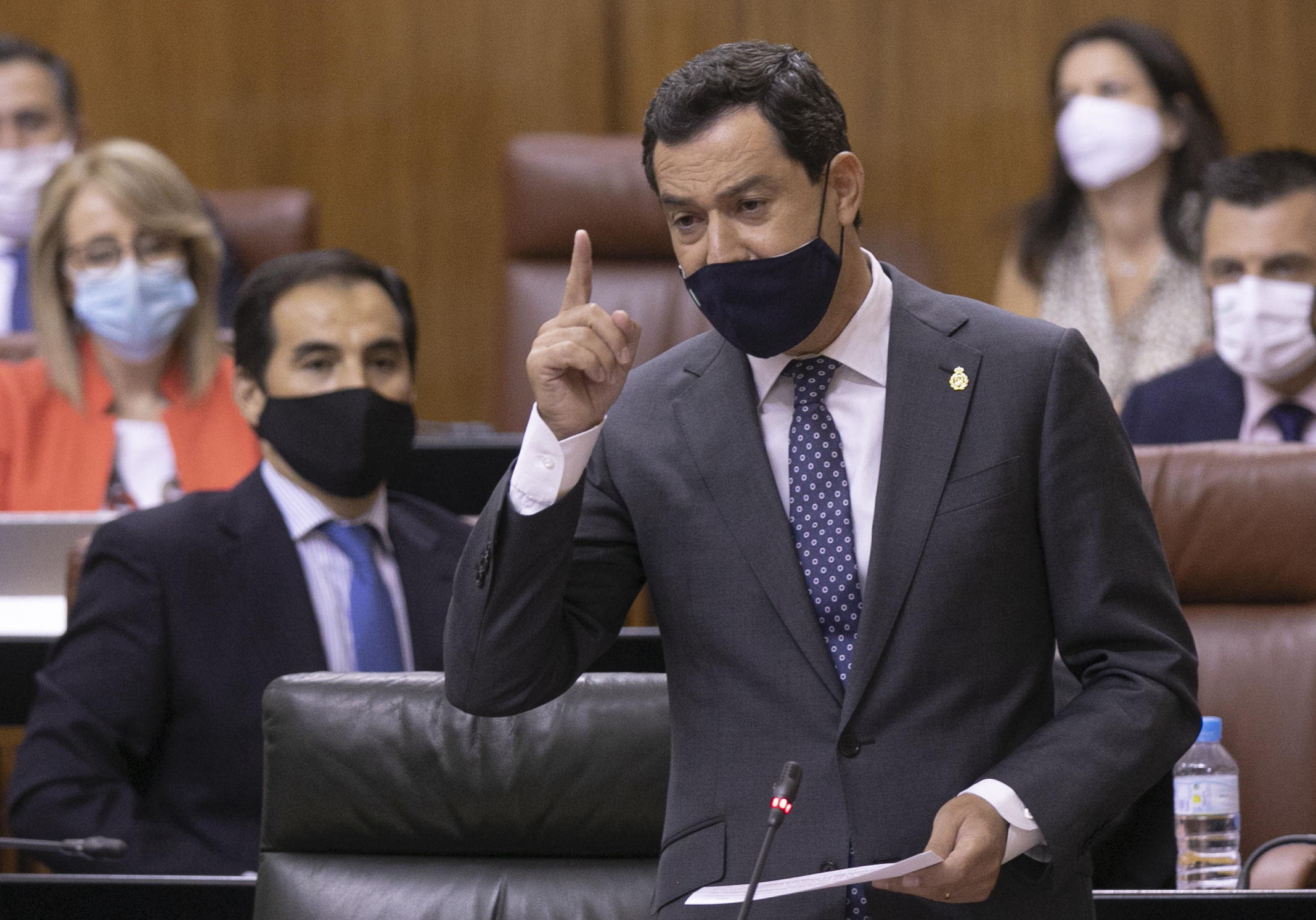 El president de la Junta d'Andalusia, Juanma Moreno / EP
