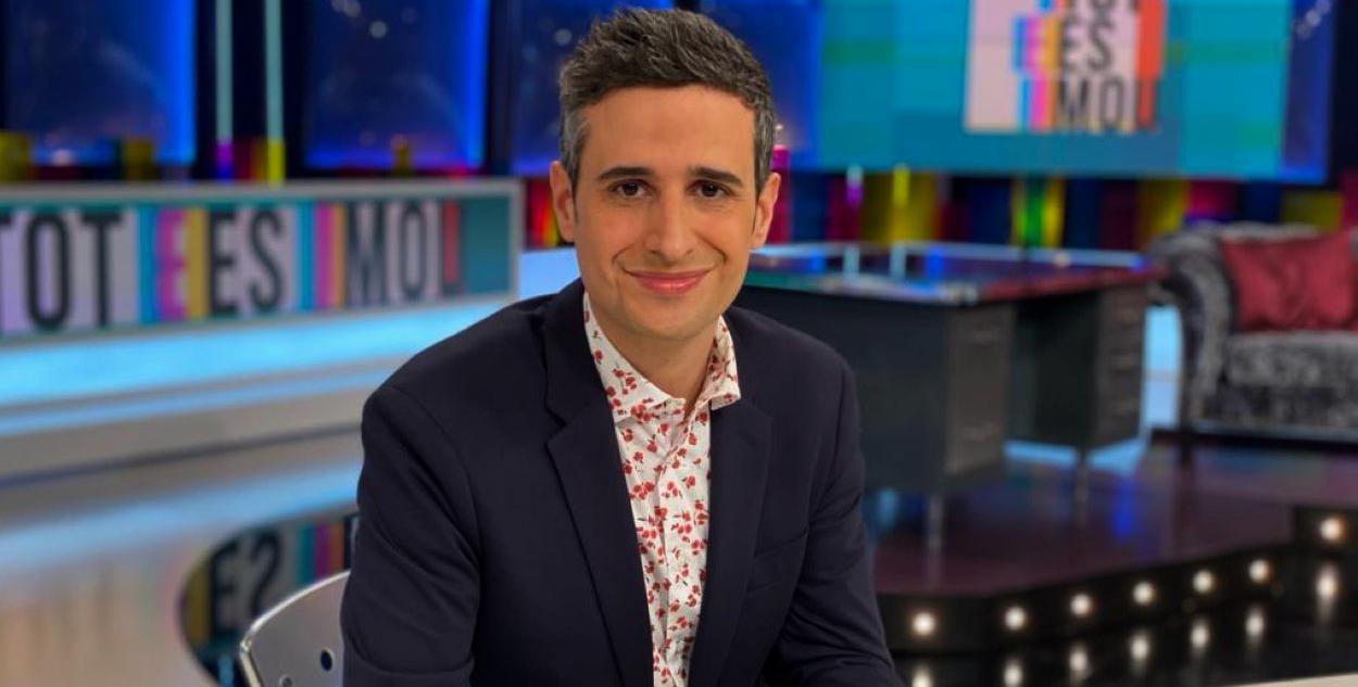 Lluís Marquina, en una foto promocional de 'Tot es mou' - TV3