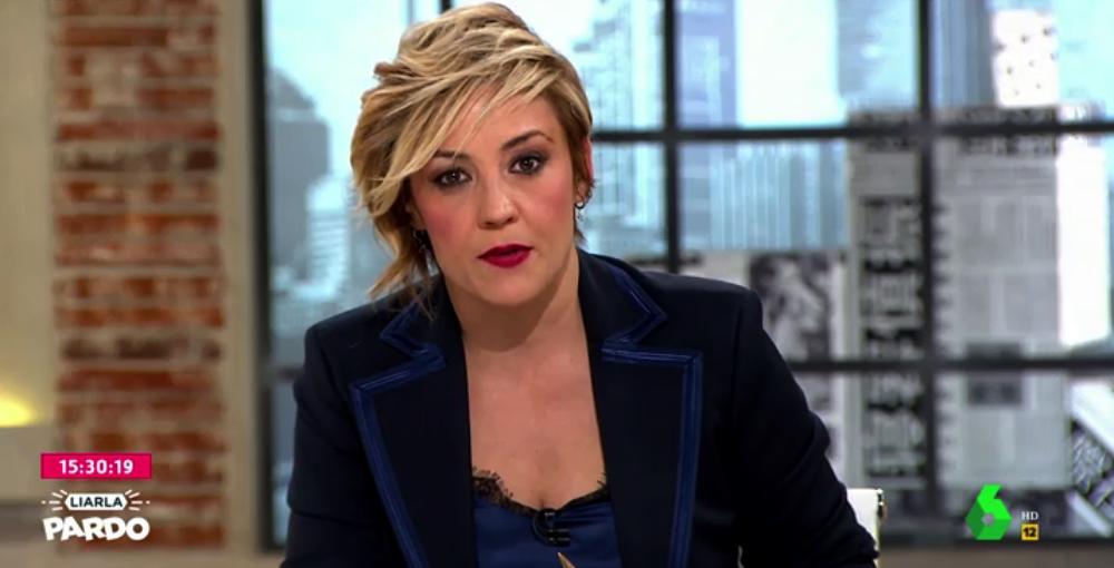 Cristina Pardo, enfadada en directe - La Sexta