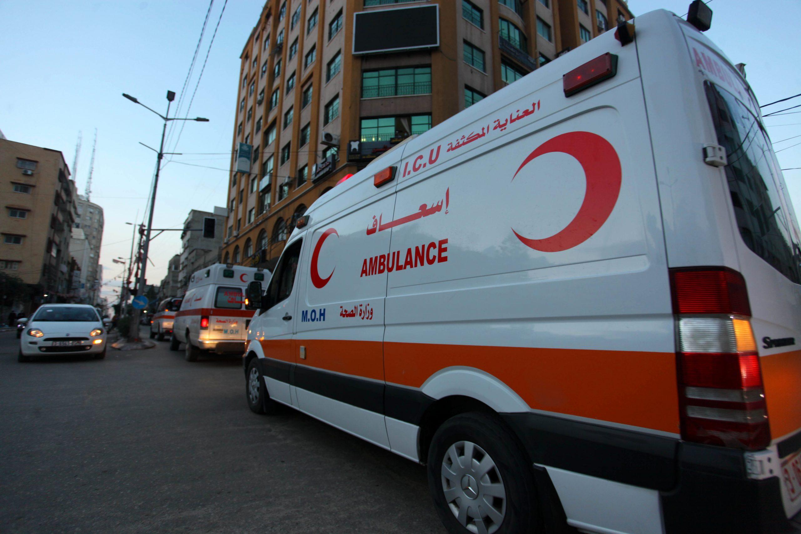 Ambulància a la Franja de Gaza / EP