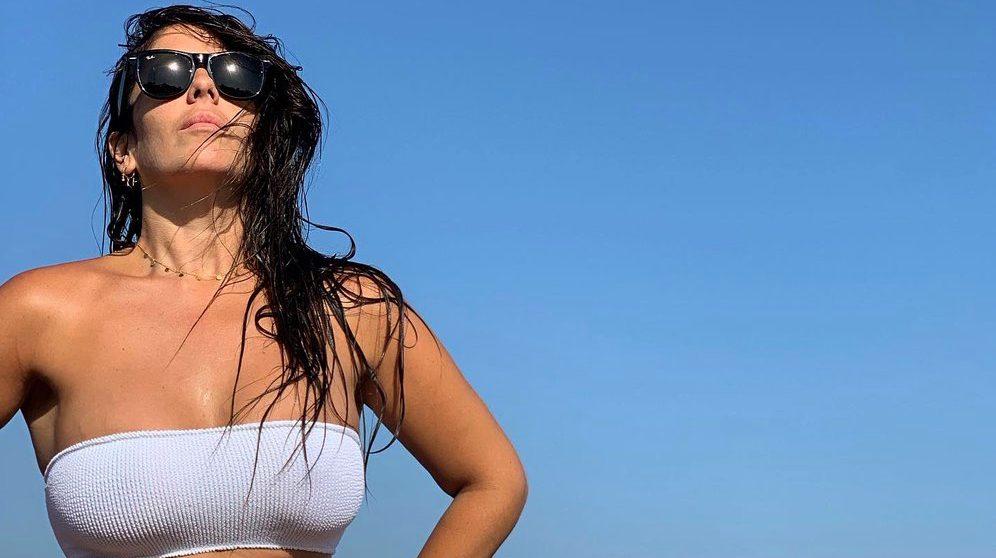 Anabel Pantoja, a la platja - Instagram