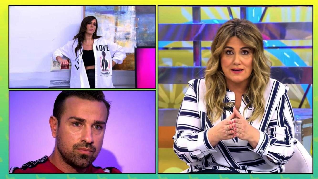 Carlota Corredera s'enfronta a Rafa Mora - Telecinco