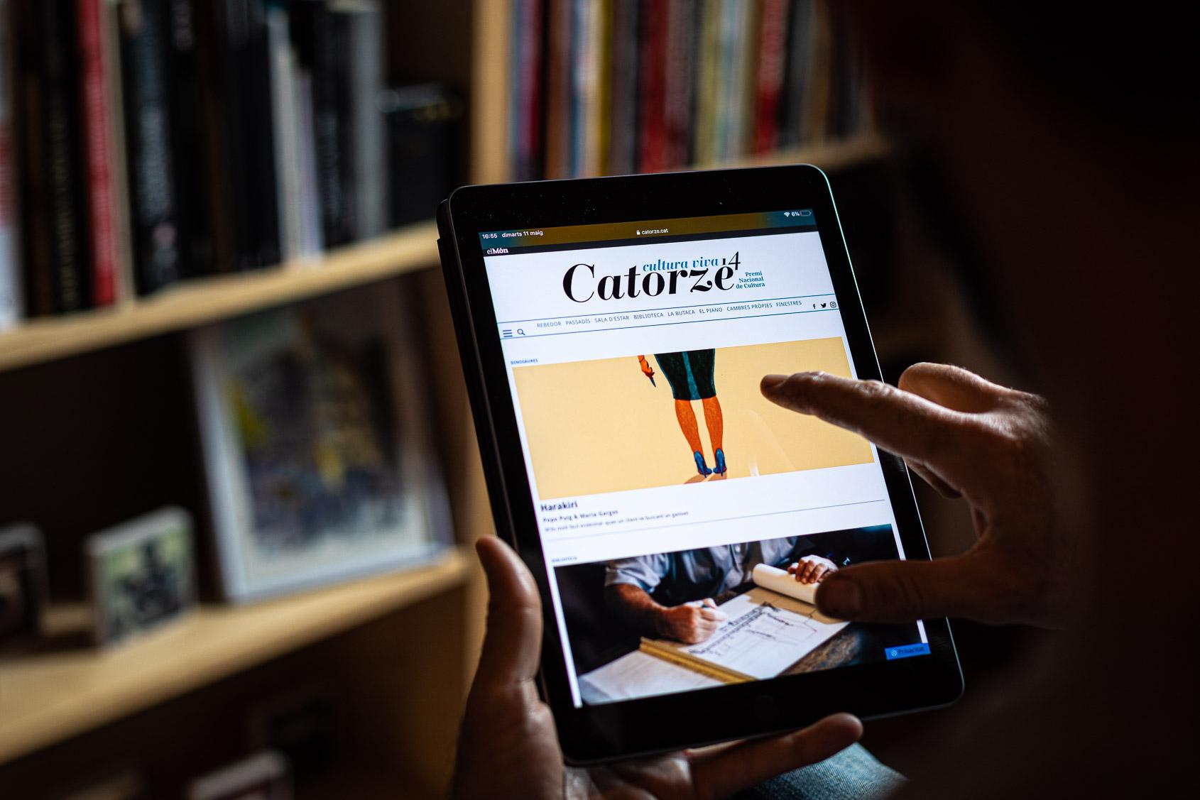 La portada de Catorze / Jordi Borràs