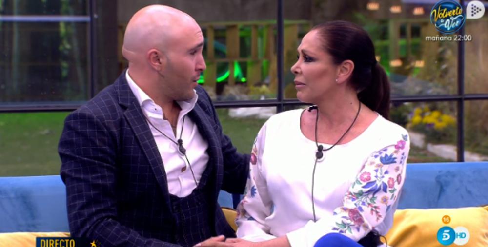 Kiko Rivera i Isabel Pantoja, junts en directe - Telecinco