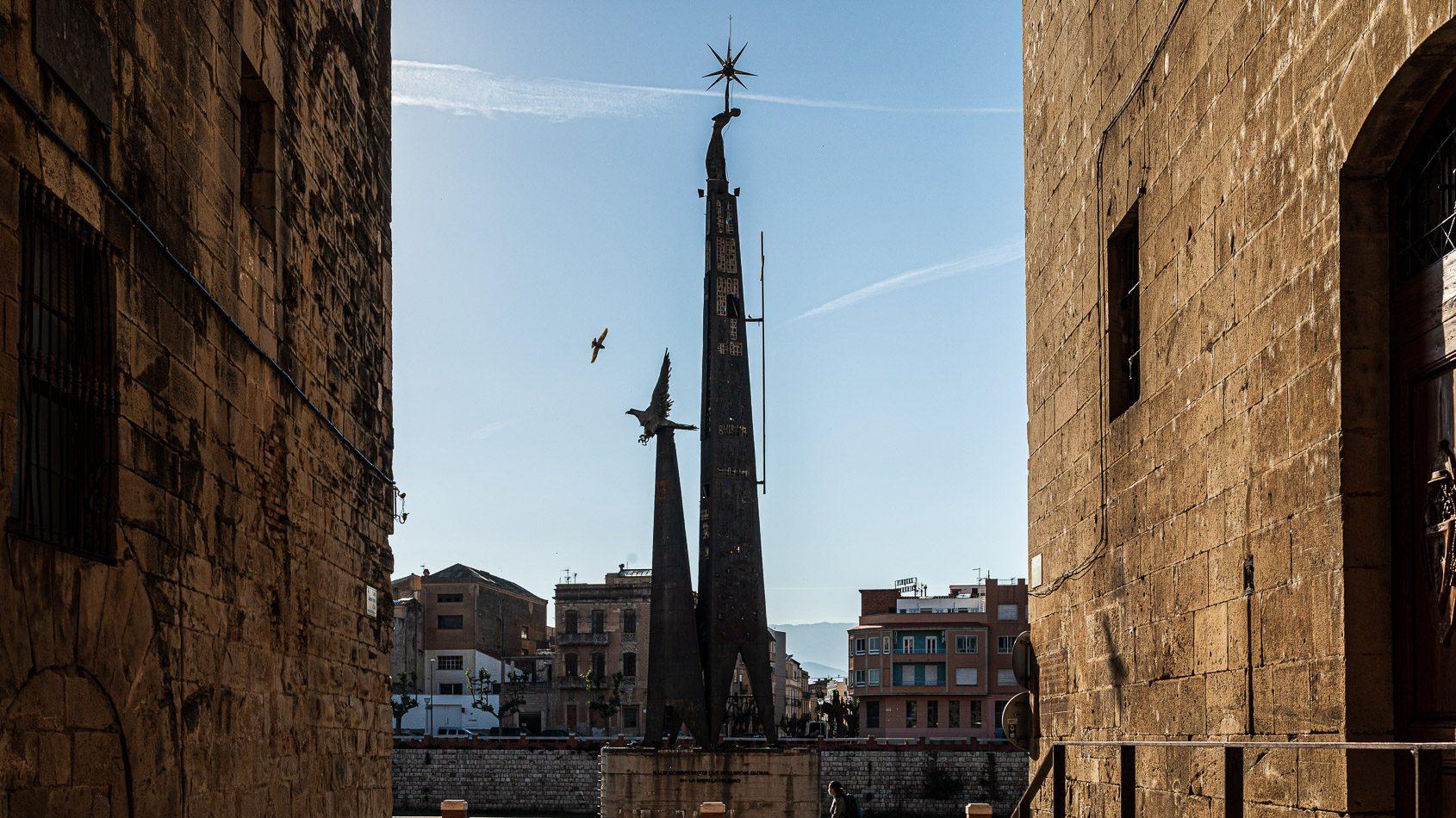 El monument franquista de Tortosa (Jordi Borràs)