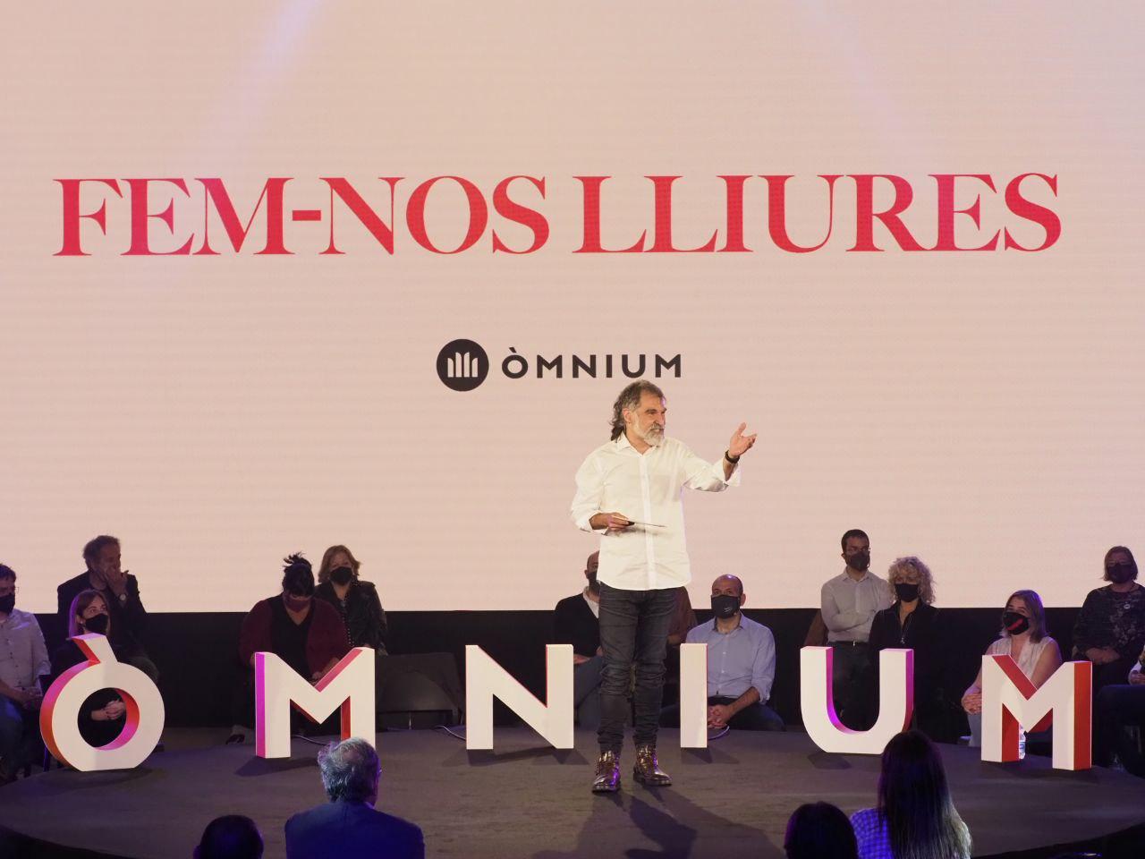 Jordi Cuixart en un acte d'Òmnium |ÒMNIUM