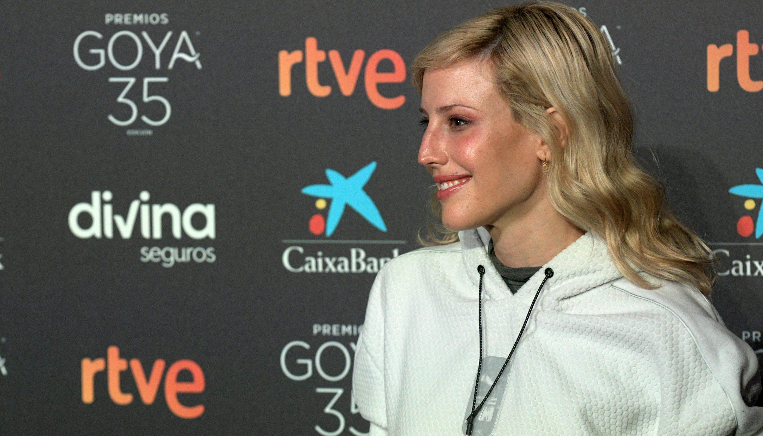 Natalia de Molina, en els premis Goya del 2021 - Europa Press