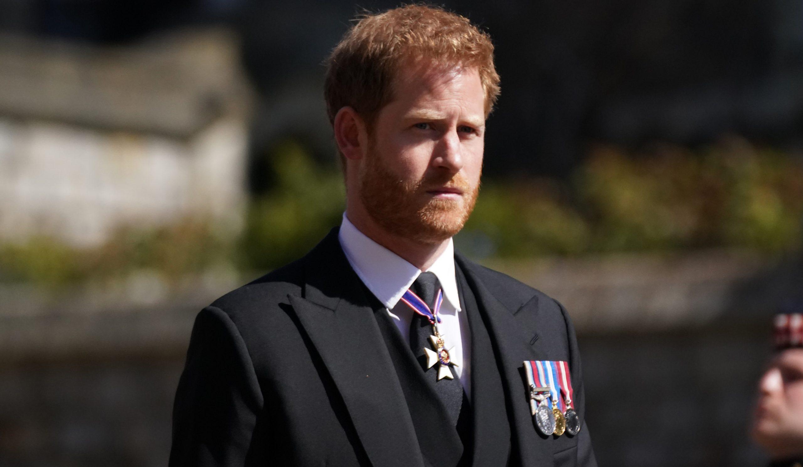 El príncep Harry, en el funeral del seu avi - Europa Press