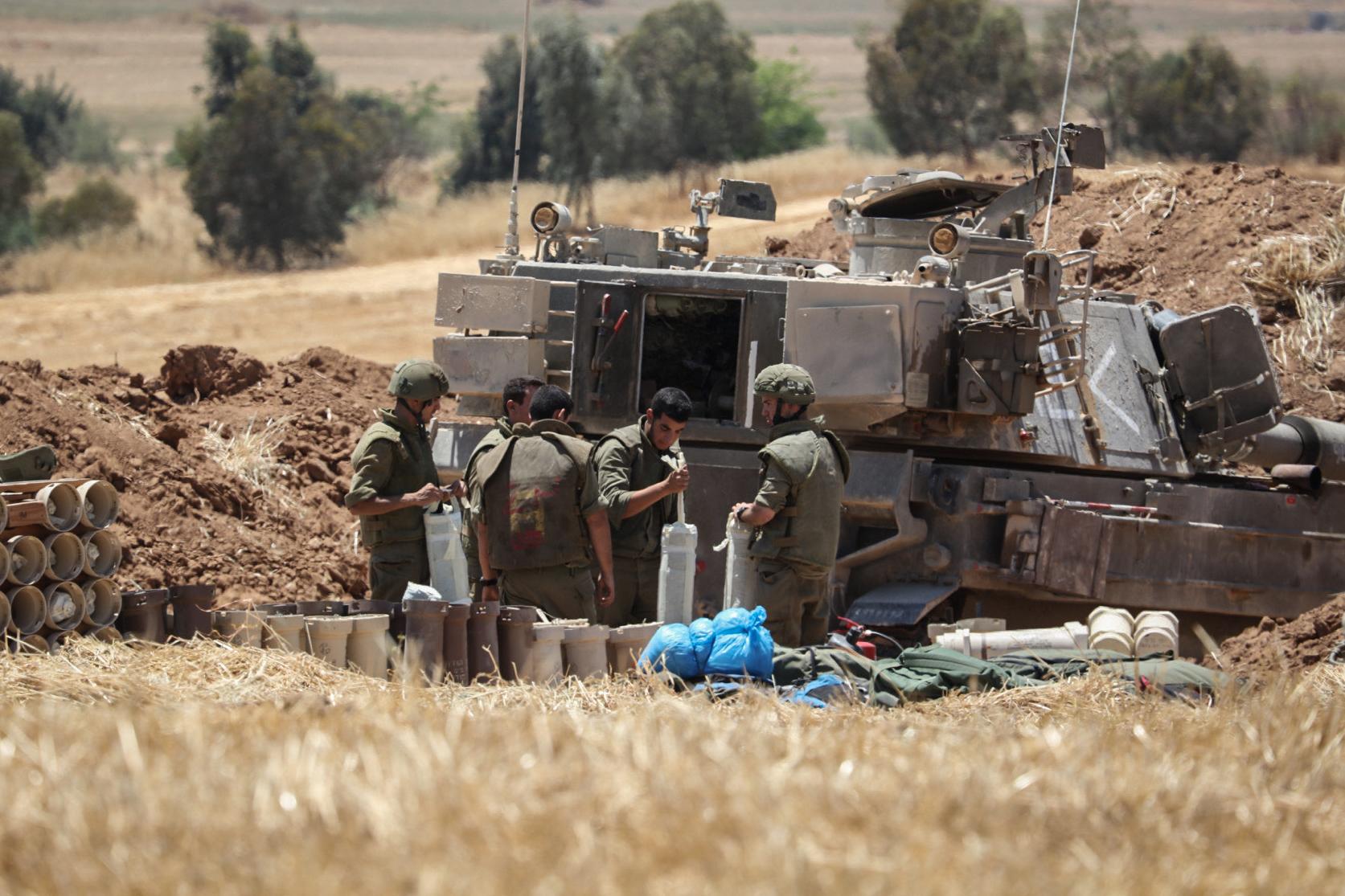 Soldats israelians | Ilia Yefimovich/dpa (Europa Press)