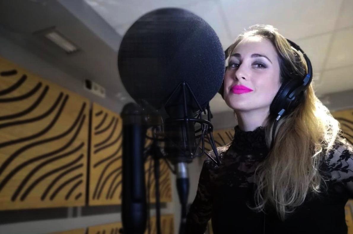 Mireia Montávez d'OT, a l'estudi - Instagram