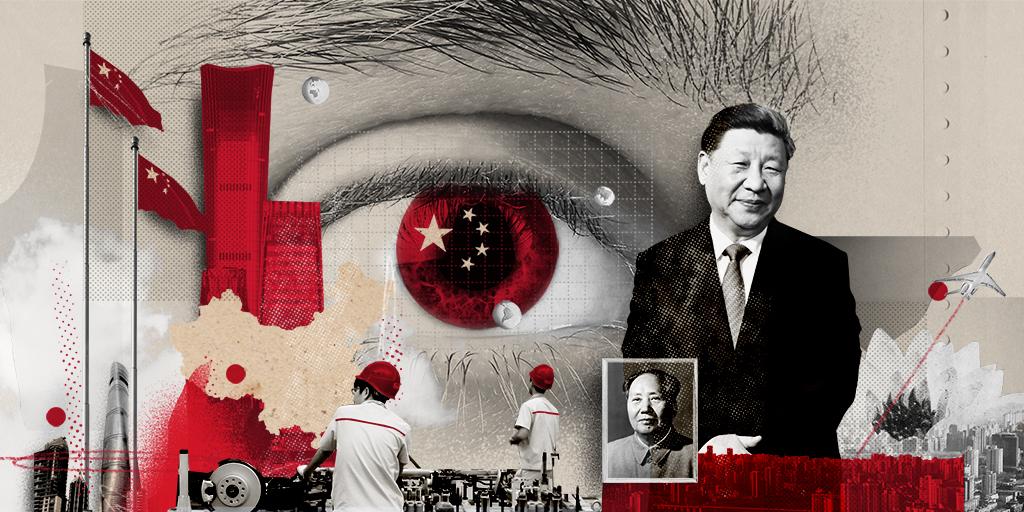 il·lustració de portada del monogràfic sobre Xina / il·lustrador: Sr. García