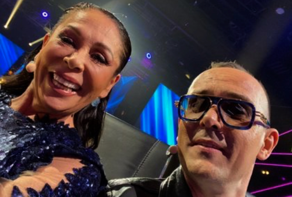 Isabel Pantoja i Risto Mejide a 'Top Star' - Instagram