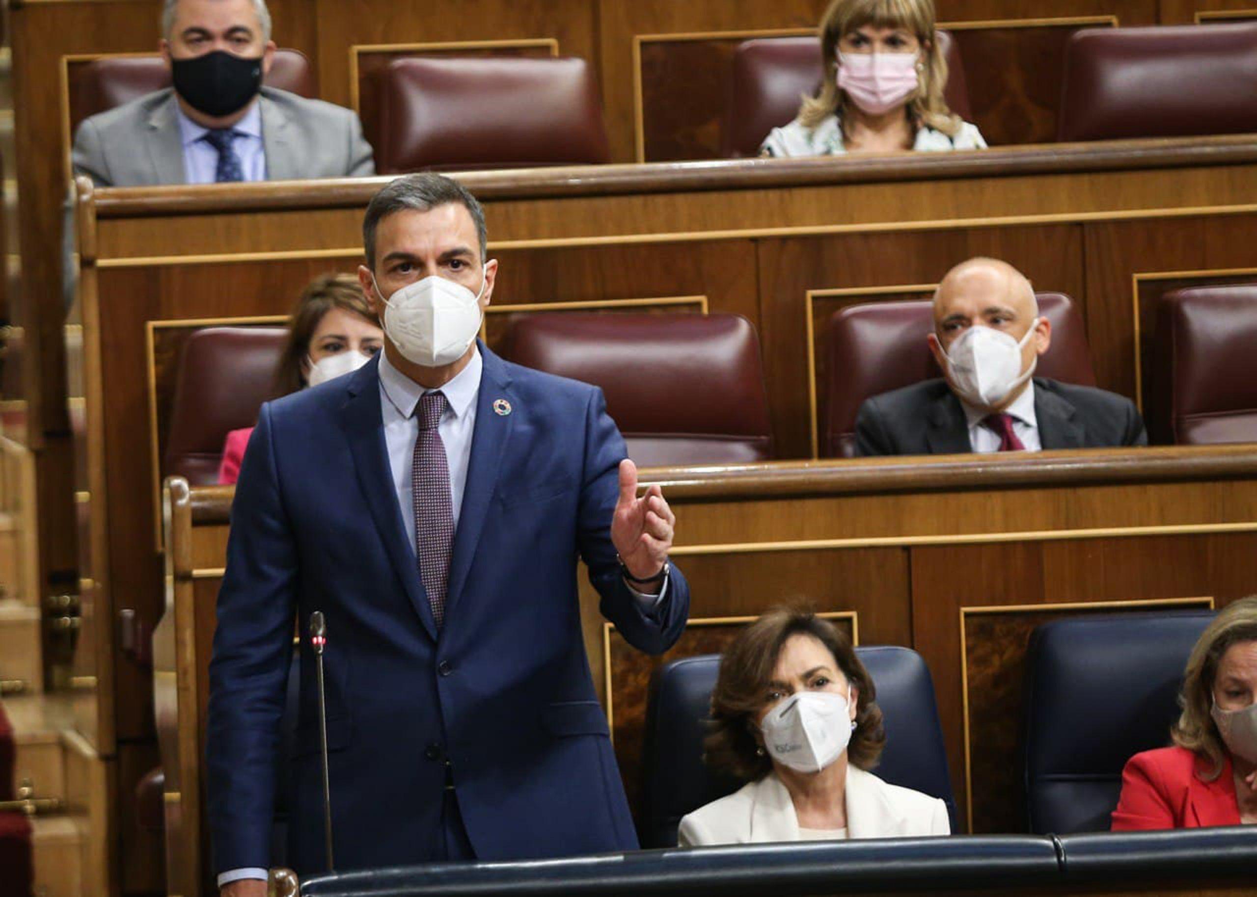 El president del govern espanyol, a la sessió de control del Congrés   ACN
