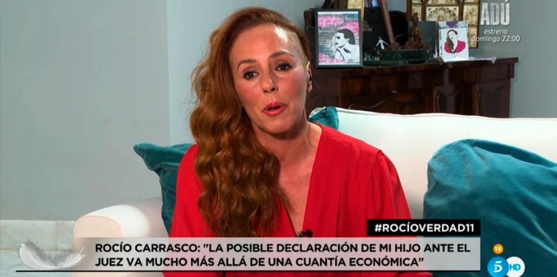 Rocío Carrasco reapareix en directe - Telecinco
