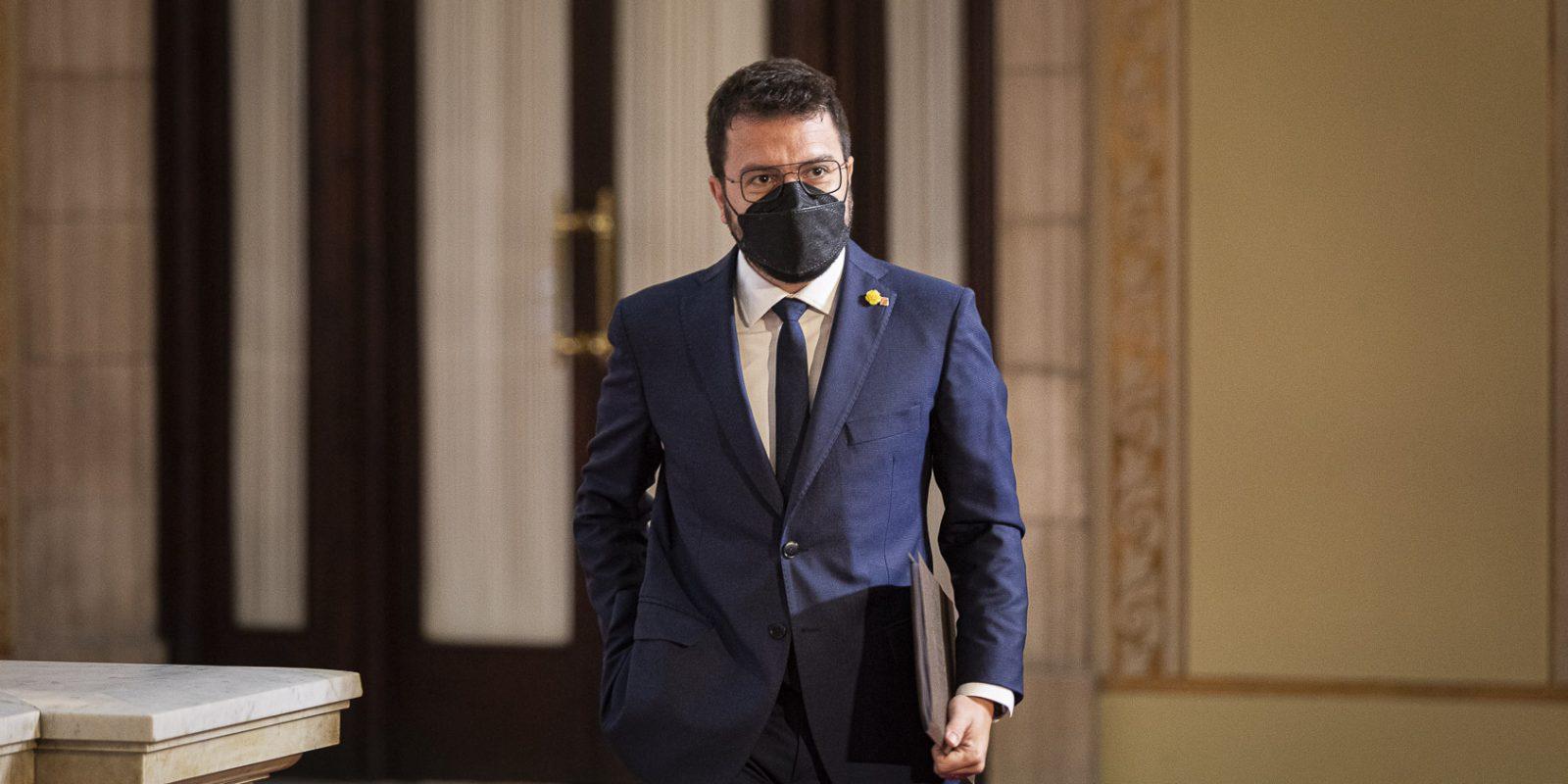 Investidura de Pere Aragonès   Jordi Borràs