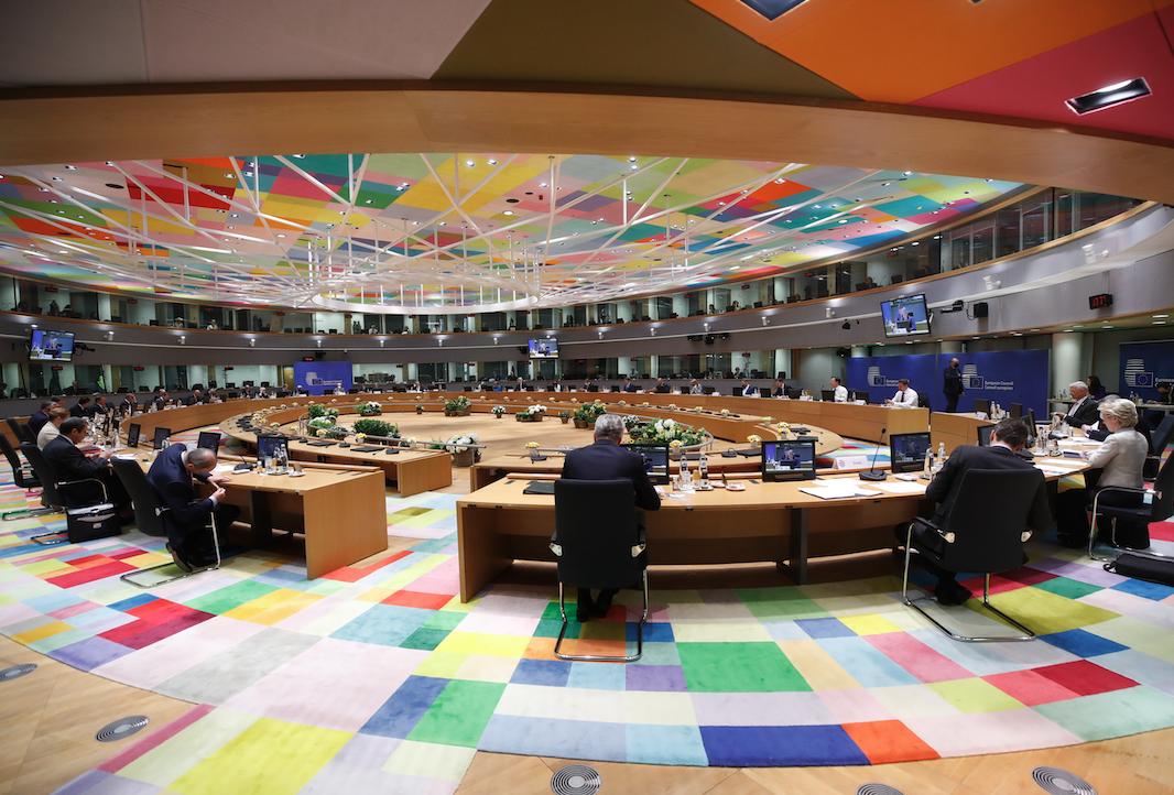 Reunió dels líders europeus a Brussel·les pel Consell Europeu   ACN
