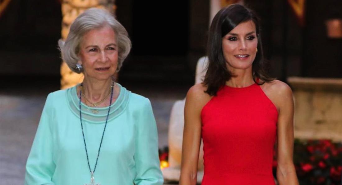 Sofia i Letícia, juntes en un acte oficial - Europa Press