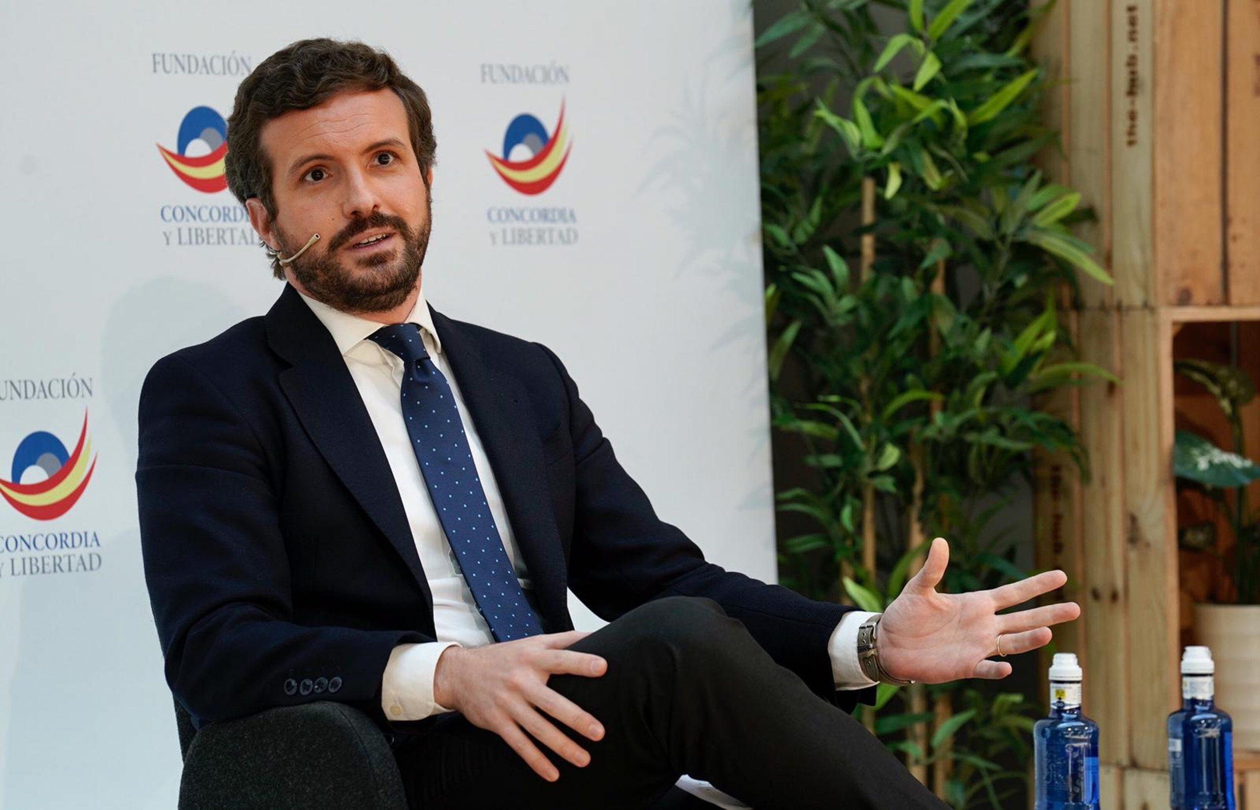 El líder del PP, Pablo Casado | ACN