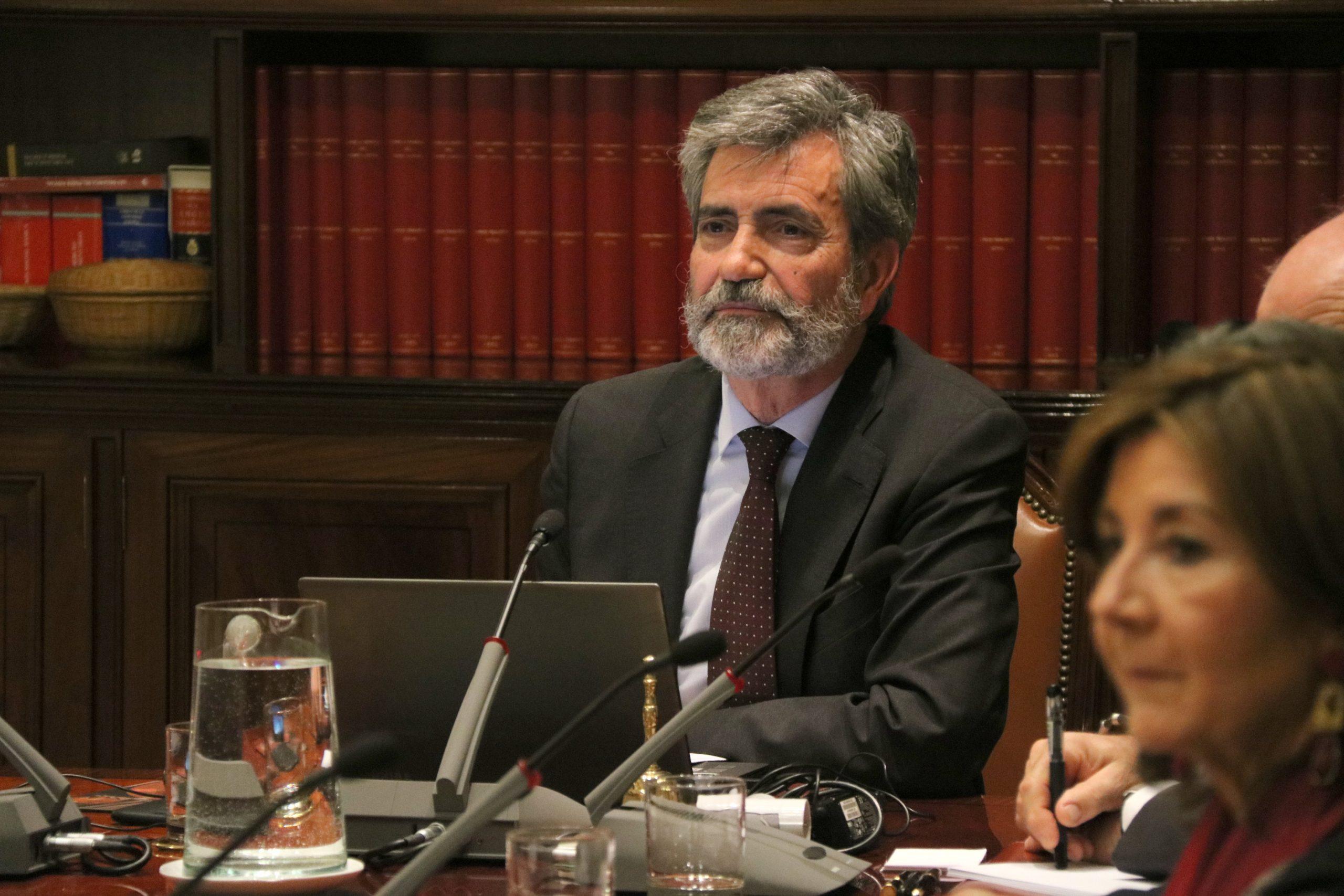 El president del Tribunal Suprem, Carlos Lesmes | ACN