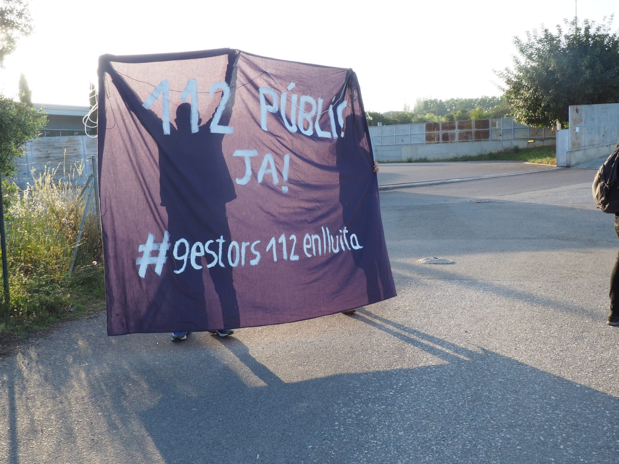 Protesta dels treballadors del 112 / Comitè 112 Reus