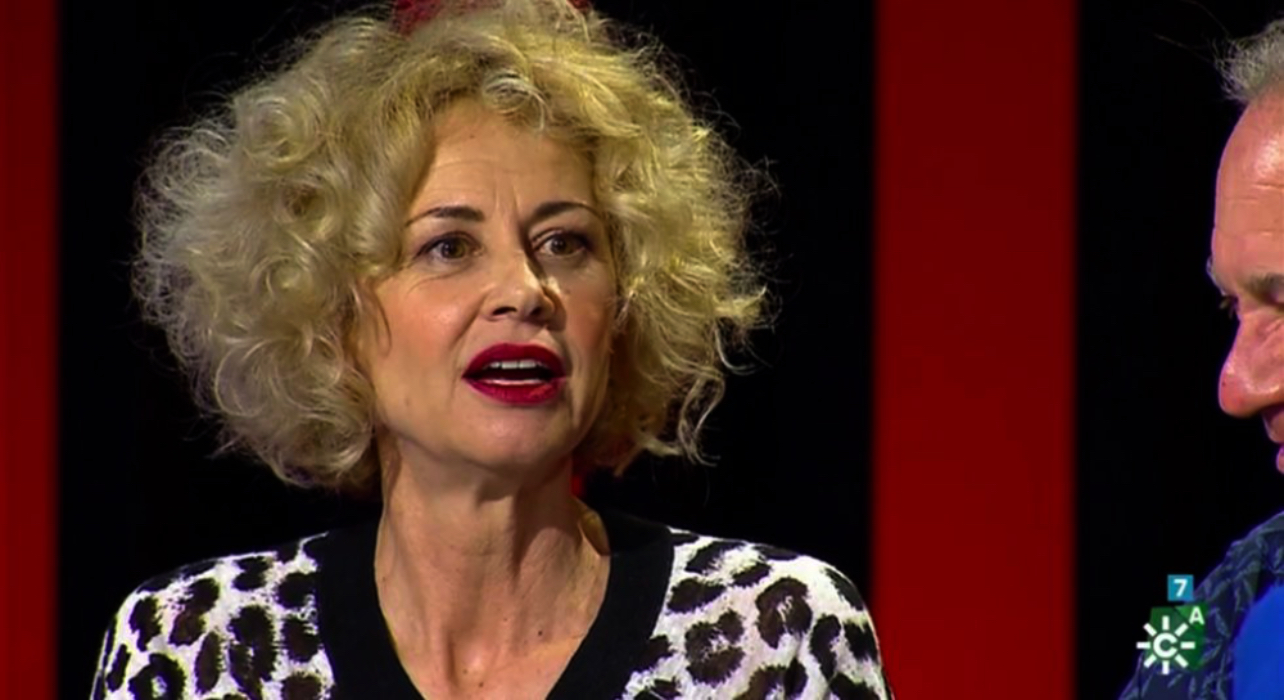 Esther Arroyo a 'El show de Bertín' - Canal Sur