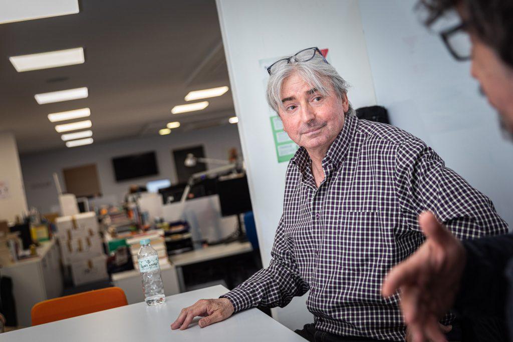 Joan Capdevila era el mànager de Sau, i també participava en l'escriptura de les lletres de Sau | Jordi Borràs