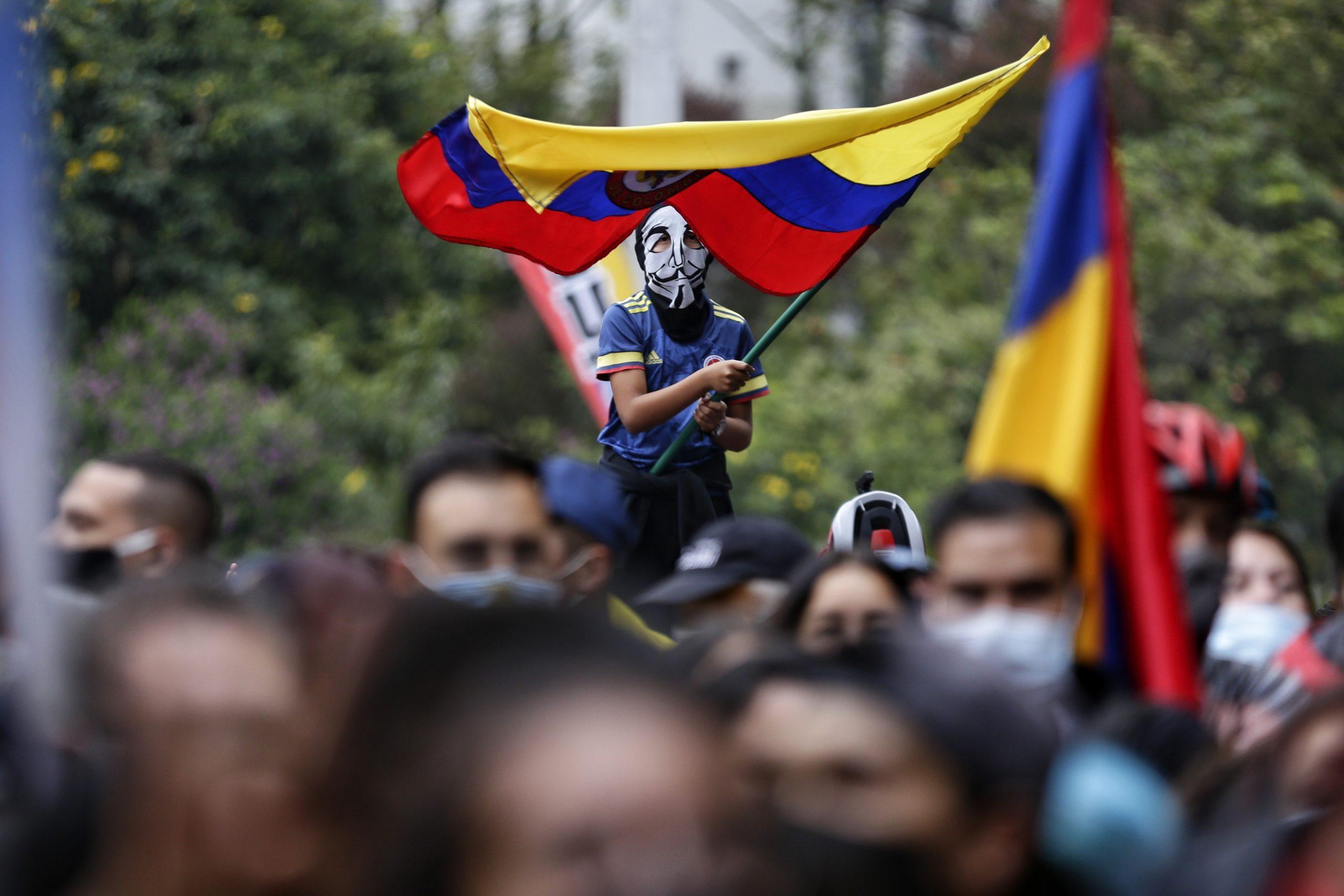 Una protesta contra el govern de Colòmbia / EP
